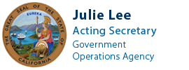 Visit the Acting Secretary of the Government Operations Agency, Julie Lee, website