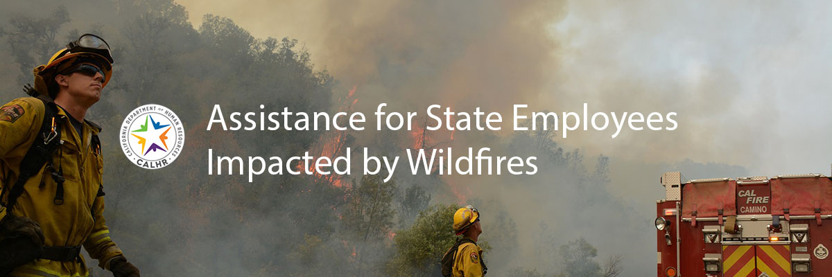 Assistance for State Employees Impacted by Wildfires