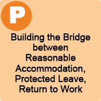 1:45 P.M. to 2:45 P.M., Building the Bridge Between Reasonable Accommodation, Protected Leave, and Return to Work