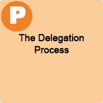 3:00 P.M. to 4:00 P.M., The Delegation Process
