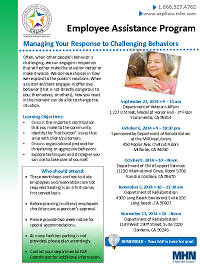 Managing Your Response to Challenging Behaviors