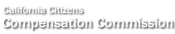 California Citizens Compensation Commission logo