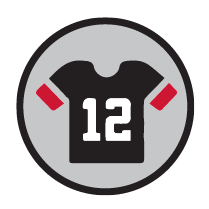 Image of a football sports jersey.
