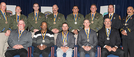 Medal of Valor recipients.