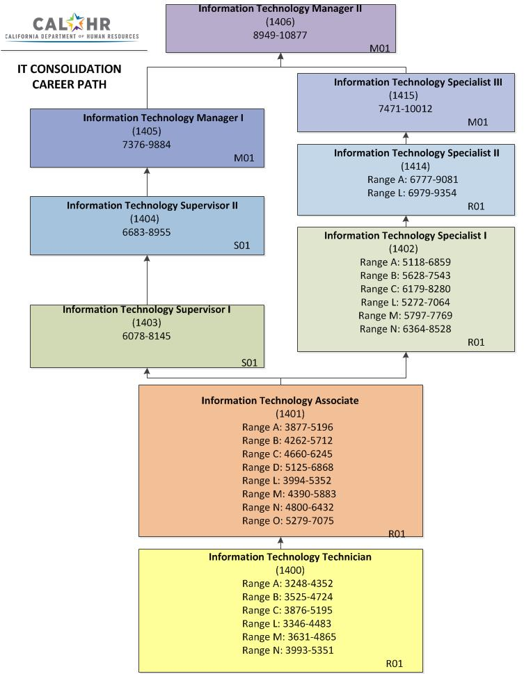 IT Class Consolidation Career Path